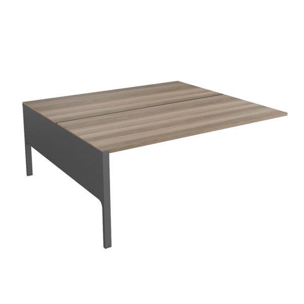 Extensión mesa tipo Bench de 1200 mm, elaborada en tablero bilaminado de aglomerado.