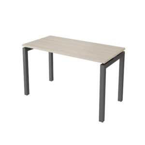 1200 mm side table, made of 25 mm thick bilaminate agglomerate board.