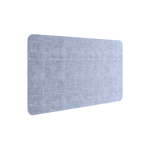 Rectangular intermediate acoustic separator. Absorbent phono, made of 100% recycled poly ethylene fiber.