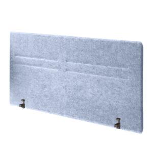 Separador fono absorbente intermedio realizado en fibra de poli etileno 100% reciclada.