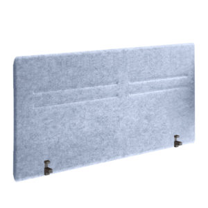 Intermediate absorbent phono separator made of recycled poly ethylene 100 fiber.